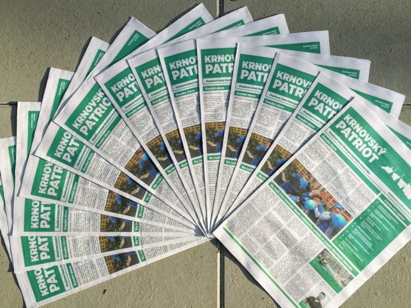 Vydali Jsme První Noviny
