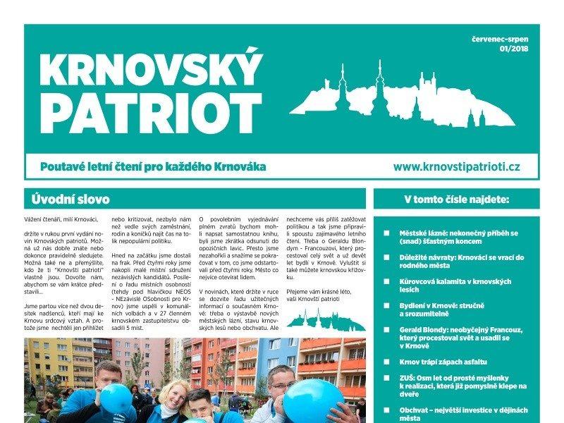 Krnovský Patriot – Letní Vydání